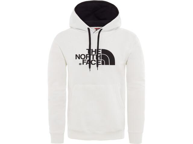 The North Face Drew Peak Hættetrøje Herrer, hvid/sort